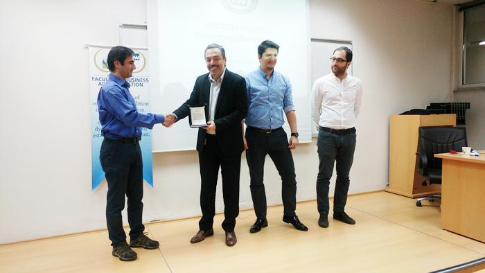 ERP Training with Microsoft Dynamics 365 (Axapta) in Marmara University