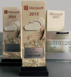 Microsoft Dynamics ERP Partner of the Year Award